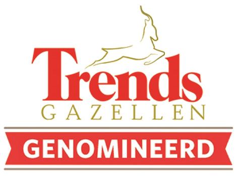 Pedeo Hogedrukgieterij genomineerd als Trends Gazelle