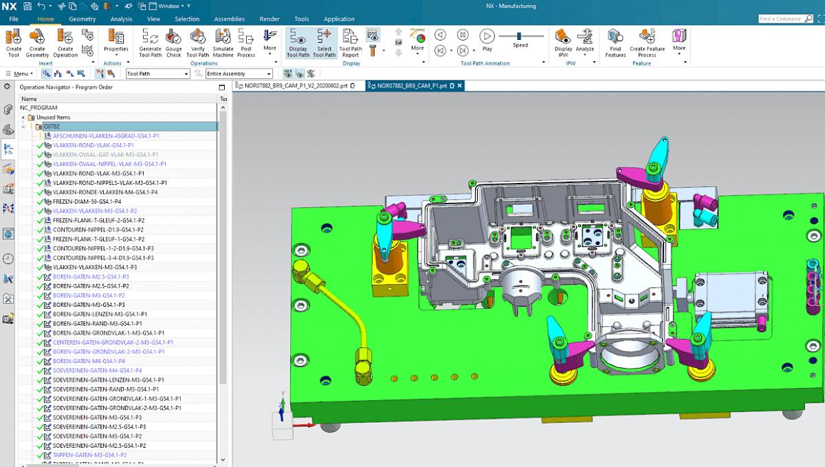 Betrouwbare CAM software en simulatiemogelijkheden
