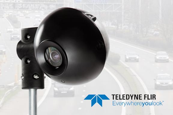 Teledyne FLIR verkiest aluminium boven kunststof voor TrafiCam verkeerscamera